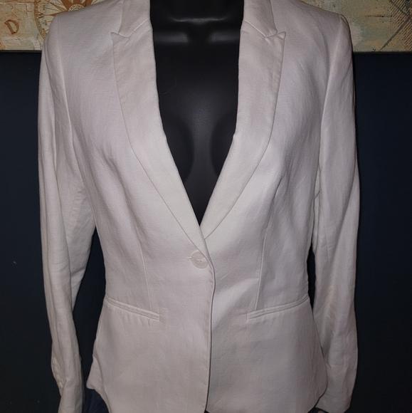 H&M Linen Jacket size 4